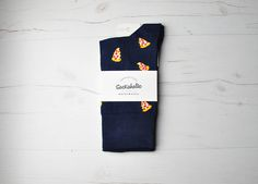 Pepperoni Pizza  #socks #calcetines #blue #pizza #foodporn