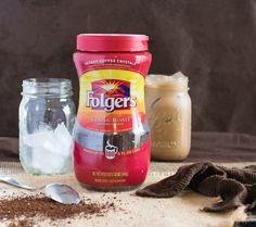 Creamy Vanilla Mocha Iced Coffee Folgers