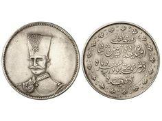 Iran coin, 5 Krans. 1313aH (1807dC.).