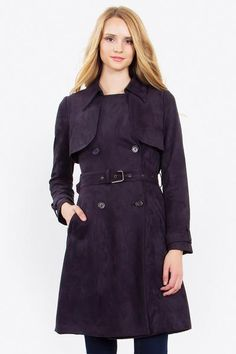The Classic Coat Classic, timeless, luxurious, indispensable are some of the words to describe this fashionable Trench Coat. It's a coat that never goes out of style!