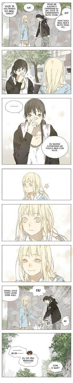 Armazém Yuri - Galeria de mangás: Tamen de Gushi - Capítulo 03
