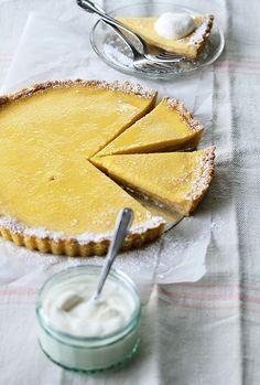 Honey-Kissed Lemon Tart (gluten and grain-free, Paleo)