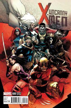 """Uncanny X-Men 600"" variant cover"