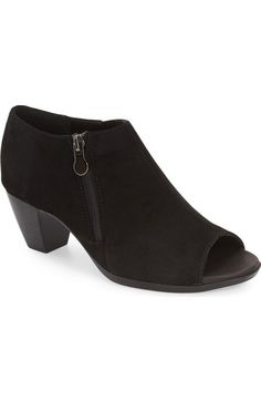 Munro 'Luisa' Open Toe Bootie (Women) available at #Nordstrom