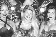 Fergie from The Black Eyed Peas (aka Stacy Ferguson) at prom  (via The Best Celebrity Prom Photos)