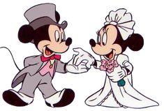 Mickey & Minnie Wed