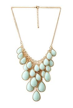 Posh Teardrop Necklace | FOREVER 21 - 1000088615