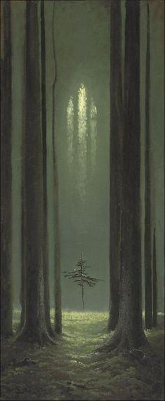 """Konstantin Vasiliev """"Forest Gothic"""""""