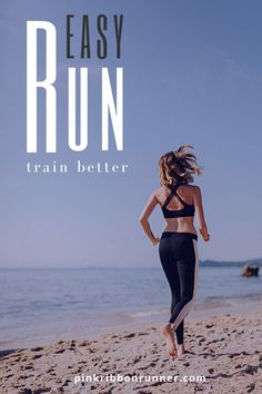 An easy run at a slow training pace helps muscles recover from other harder workouts. It can improve running endurance, speed, efficiency, and form. Training slower helps you race faster. Learn more about how and why this works at pinkribbonrunner .com. Learn To Run, How To Start Running, How To Run Faster, How To Run Longer, Hard Workout, Running Workouts, 80 20 Principle, Running Muscles, Running Half Marathons
