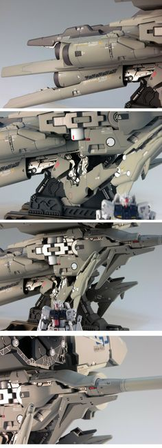 sekigan:  RX-78GP03 Gundam GP03 Dendrobium | Toys n' Models | Pinterest