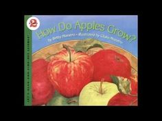 This story is about the life cycle of an Apple Tree. It includes details about each stage in the cycle of an apple. Apple Unit, Apple Books, Mini Books, Learning Resources, Fun Learning, Teaching Kids, Apple Life Cycle, Read Aloud Books, Apple Prints