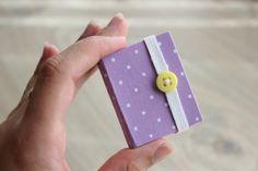Diy Mini cuadernito Post it, preciosa idea para souvenir de Cumple #souvenir