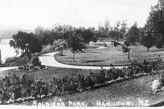 Soldier's Park - Memorial Park Memorial Park, City Council, First World, Hamilton, Paths, Memories, River, History, Maori