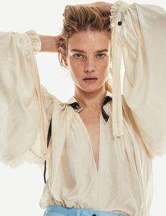 Natalia Vodianova in InStyle US March 2018 by Chris Colls