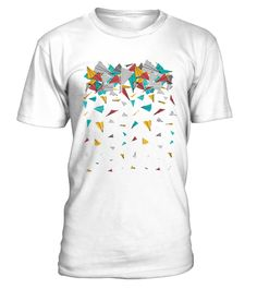 # FLYING PAPER PLANES .  Solid colors: 100% Cotton; Heather Grey: 90% Cotton, 10% Polyester; All Other Heathers: 65% Cotton, 35% PolyesterImportedMachine wash cold with like colors, dry low heat