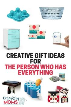 gift ideas for the person who has everything. Unique gift ideas ...