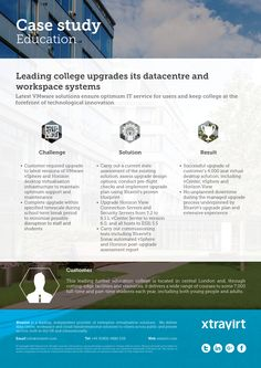 Leading college upgrades its datacentre and workspace systems - Latest VMware solutions ensure optimum IT service for users and keep college at the forefront of technological innovation
