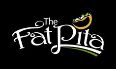 The Fat Pita. Yummy logo design. I remember eating these fat pitas after nights our dancing in my younger days. Best food ever. I should do it soon again.
