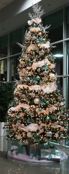 Tiffany & Blue, Crystal Christmas Tree | Flickr - Photo Sharing!