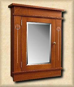 Oak Surface Medicine Cabinet Kit @ VAN DYKE'S | Arts & Crafts ...