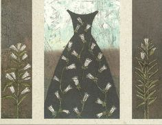 Tales from the Picture Frame Shop: Kirsi Neuvonen -Printmaker from Finland. Lily Dress 2001