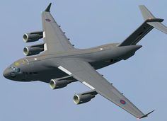 Boeing C-17 Globemaster. this thing has been flying over my apartments all day, doing touch n goes at pti