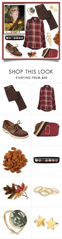 """""""Comfortable Fall"""" by freida-adams ❤ liked on Polyvore featuring Velvet by Graham & Spencer, Sperry, Marc Jacobs, Anne Klein and Pernille Corydon"""