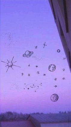 Purple Wallpaper Iphone, Mood Wallpaper, Iphone Wallpaper Tumblr Aesthetic, Iphone Background Wallpaper, Aesthetic Pastel Wallpaper, Aesthetic Backgrounds, Aesthetic Wallpapers, Yoonmin Fanart, Dibujos Cute