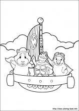 Wonder Pets coloring pages on Coloring-Book.info