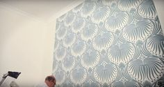 Watch this great video and find out, how to hang your wallpaper by Farrow and Ball :) #painters #decorators #builders #London #wallpaper #farrowandball https://www.youtube.com/watch?v=aU-SIDFlFGc