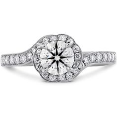 Lorelei Bloom Engagement Ring Diamond Band. This is honestly my favorite.