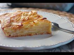Recette de gâteau fondant aux pommes / Fondant apple cake recipe