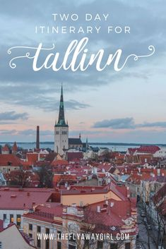 Tallinn, Estonia is the perfect place for a city break! Spend a weekend in Tallinn and enjoy the best food, coffee and attractions the city has to offer. This Tallinn itinerary can also be used as a guide for a Tallinn day trip! Europe Travel Tips, Travel Guides, Travel Destinations, Travel Articles, Travel Advice, Visit Russia, Old Trains, City Break, Day Trip