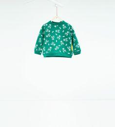 Image 1 of Animals sweatshirt from Zara