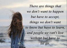 and we have no choice but to move on