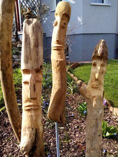 Skulpturen aus Treibholz Park, Driftwood, Sculptures, Parks
