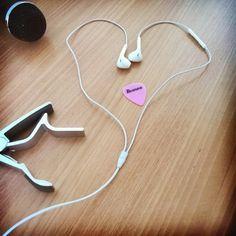 """Music's in my head...""  #music #guitar #mic #headphones #heart #like #love #singer #passion #hobby #life #follow #followme #girl #happy #may #spring #summer #sun #motivation #inspiration #photo #photooftheday #photography #songlyrics #lyrics #song #quote"