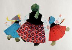 From Mischka the Bear. Illustration by Ingeborg Meyer-Rey