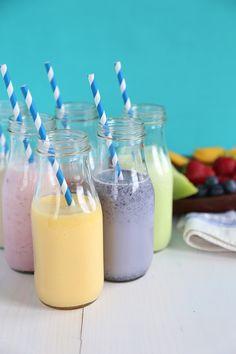 Summer Smoothies by sayyestohoboken: Made with season fresh fruit! #Smoothie #Fruit