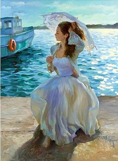 # Vladimir Volegov #. Girl at the beach