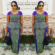 Learn About These Great africa fashion 0692 Ankara Dress Styles, Kente Styles, African Print Dresses, African Print Fashion, African Fashion Dresses, African Dress, Fashion Outfits, Womens Fashion, African Attire