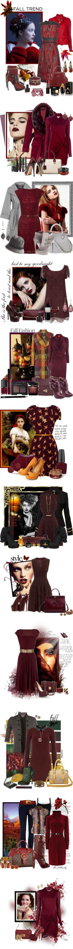 """""""burgandy oxblood maroon"""" by countrycousin ❤ liked on Polyvore"""