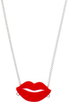 Avant Garde Robot Lips Necklace, £25: http://www.tattydevine.com/shop/by-product/collections/aw13/avant-garde-robot-lips-necklace.html