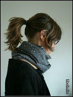 snood, écharpe, foulard, bandeau, ...