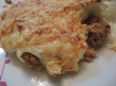 Canelones trufados de carne para #Mycook http://www.mycook.es/receta/canelones-trufados-de-carne/