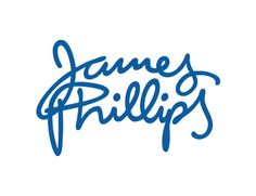 logo for a dubbing actor, voiceovers www.jamesphillips.info