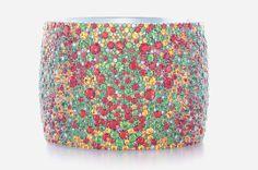 Tiffany's 'Seurat' Bangle Bracelet | Jewels du Jour