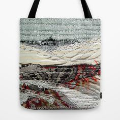 Landscape in grey Tote Bag