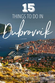 Looking for the best things to do in Dubrovnik, Croatia? Crush your visit to the Pearl of the Adriatic by swimming off the city walls, having a drink at a cliff bar, beach bumming, and more. Use this guide to put together an itinerary that will check off your bucket list.