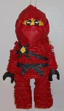 Red  Ninja Lego Pinata (Special order  travisjones ) 9.24. $29.95, via Etsy.